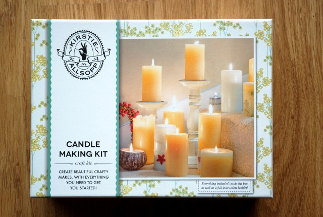Kirsty Allsopp candle making kit