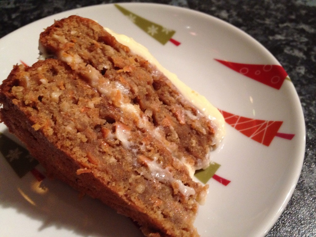 Great British Bake Off Spiced Carrot Cake