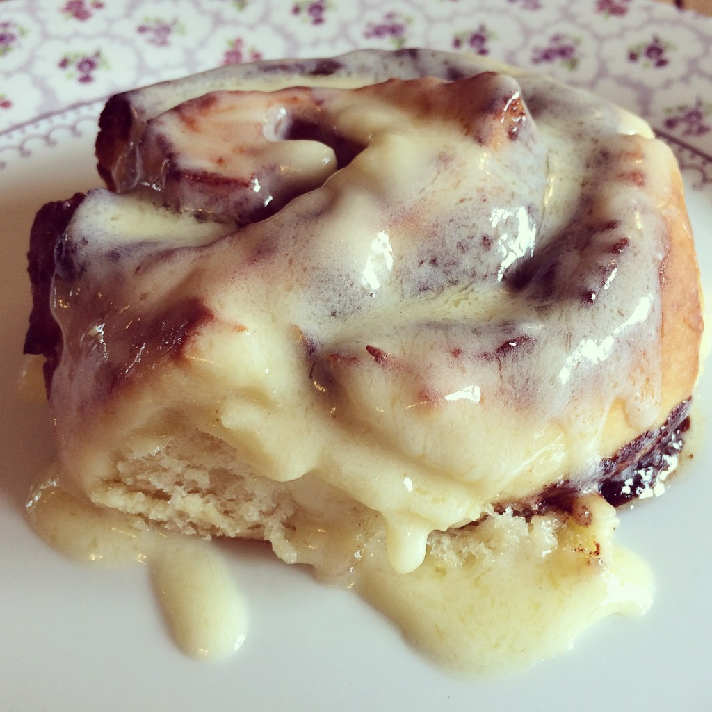 how to make cinnamon rolls uk
