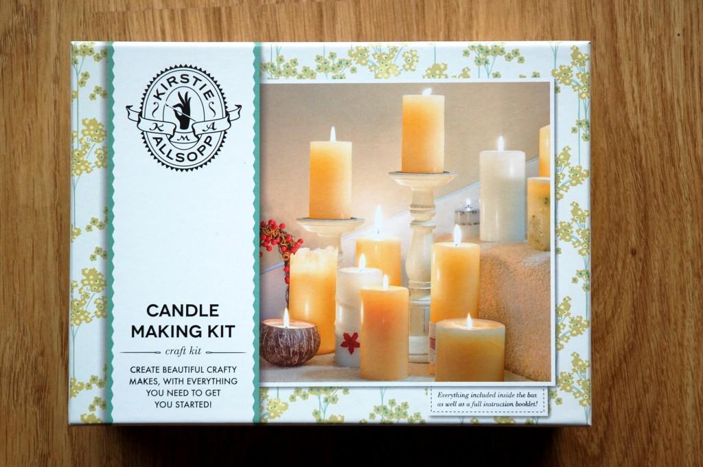 Kirsty Allsopp candle making kit