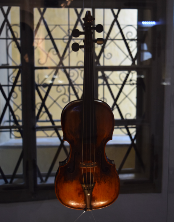 Mozart's childhood violin
