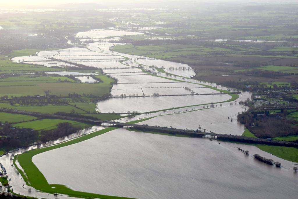 River Severn flooded