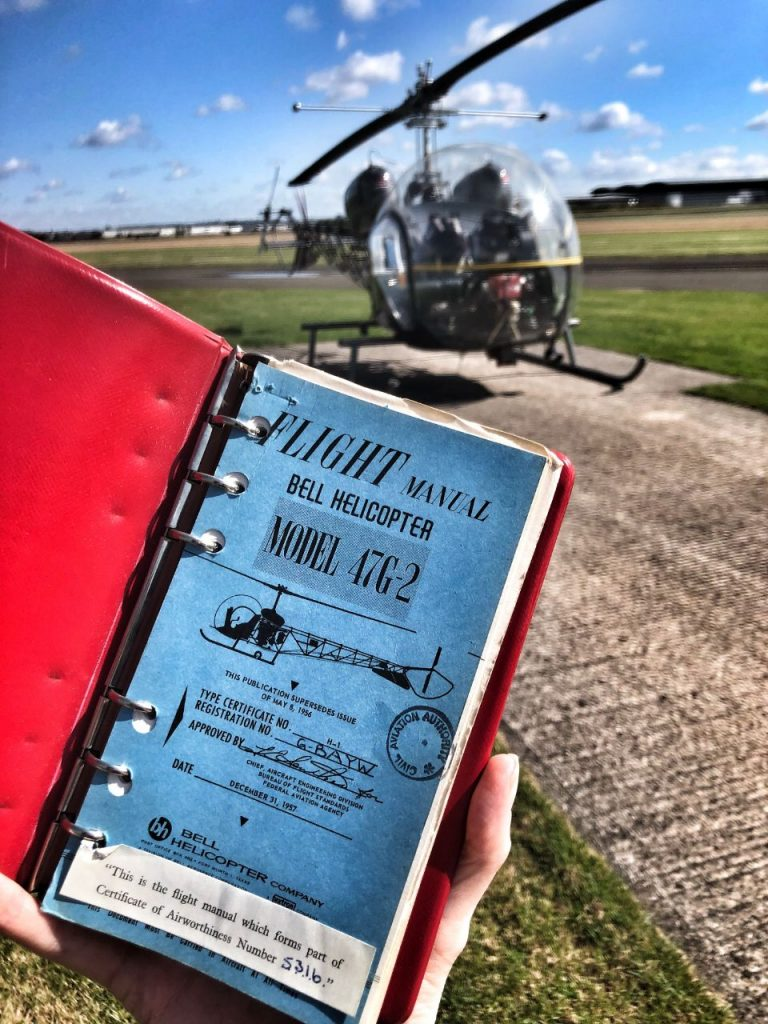 5 BELL HELICOPTER 47G PILOTS TRAINING MANUAL